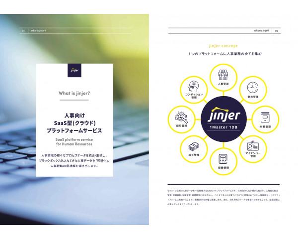 人事管理システム・人事管理ソフトの「jinjer」