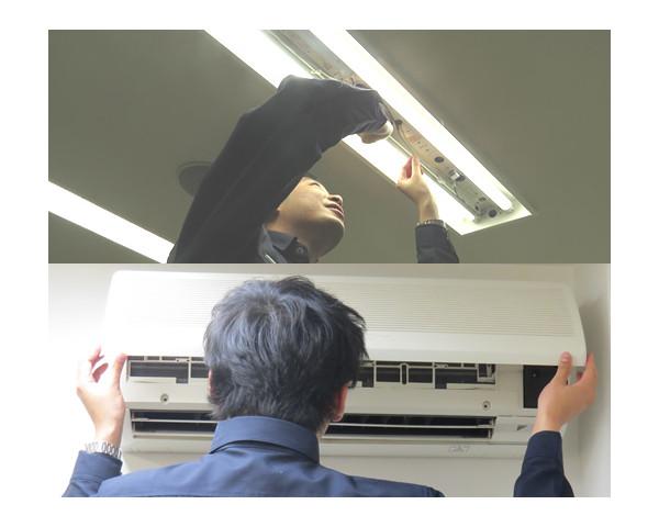 LED改修工事・家電設置工事各種